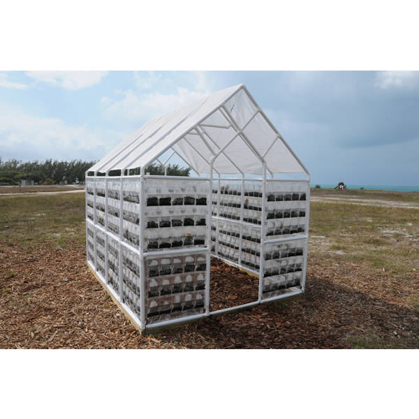 Greenhouse Installed at Key West FL